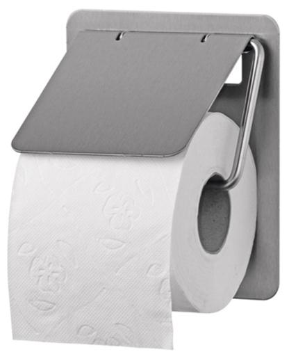RVS Toiletrolhouder