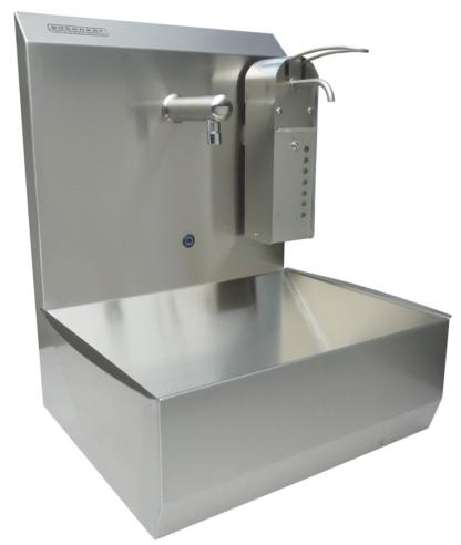Sensorbediende handwasbakken