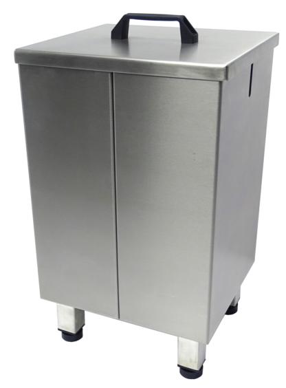 Gesloten jerrycanhouder 1 x 25 liter